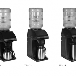 Bottled Water Coffee Brewers